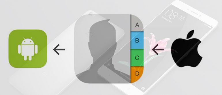 Как перенести контакты на Xiaomi - пошаговая инструкция