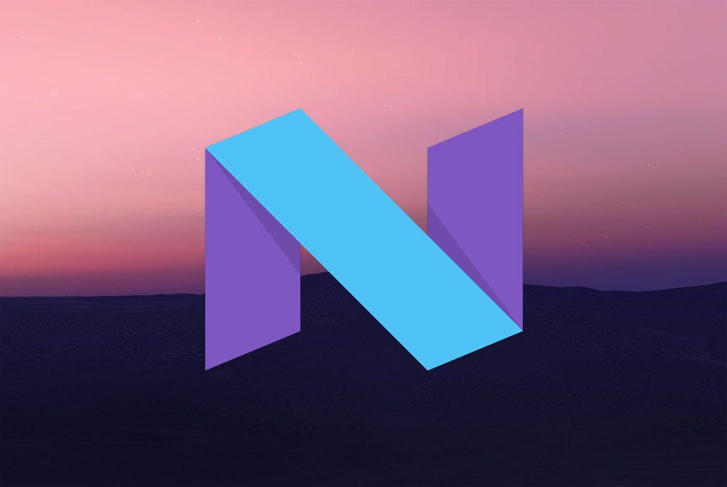 Логотип Android Nougat