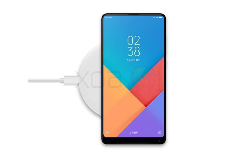 Xiaomi Mi Max 3 - беспроводная зарядка
