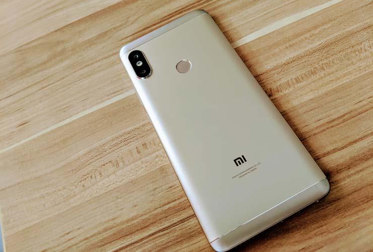 Задняя часть Xiaomi Redmi Note 5 Pro