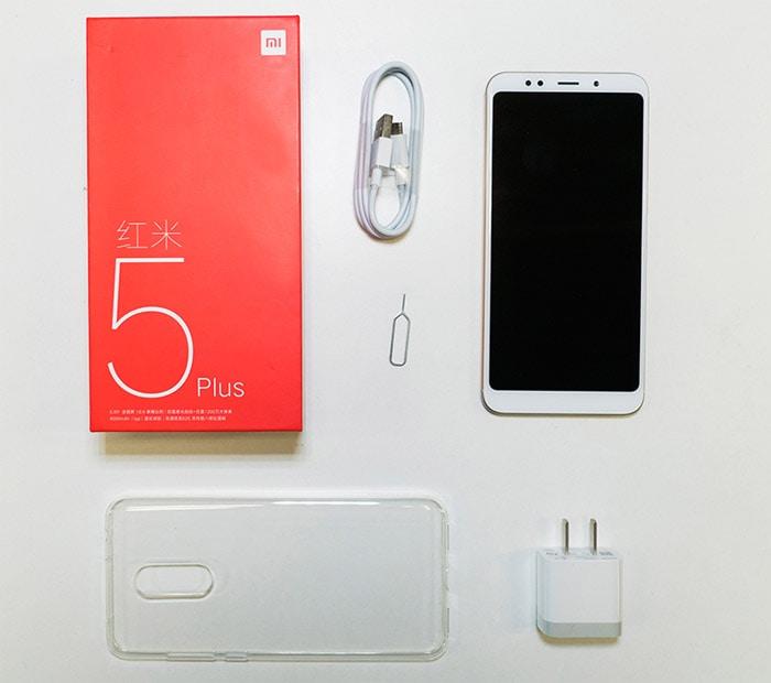 Обзор Xiaomi Redmi 5 Plus комплект смартфона