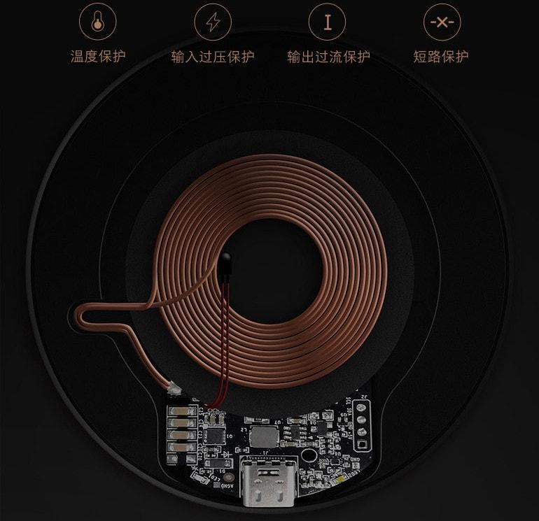 Внутренняя часть zmi wireless charger