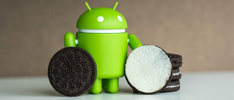 Статистика использования Android Oreo