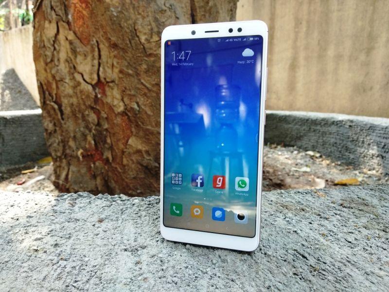 Передняя часть Xiaomi Redmi Note 5 Pro