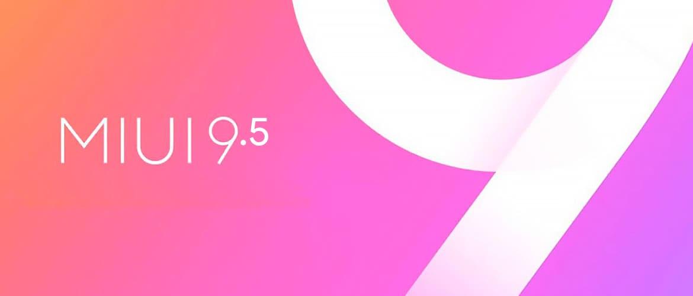 MIUI 9.5 Обновление