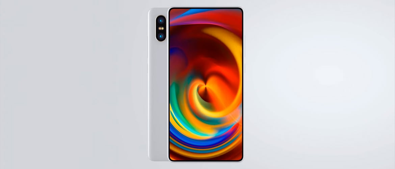 Рендер Xiaomi Mi Mix 2S на видео
