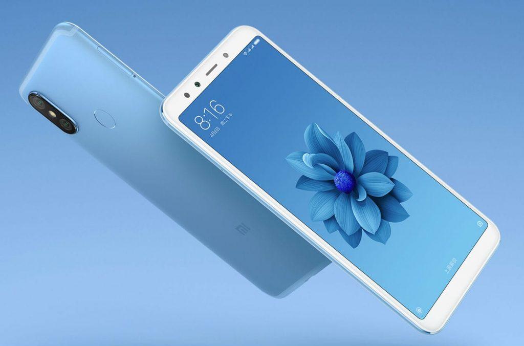 Внешний вид смартфона Xiaomi Mi A2