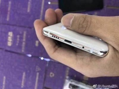 Нижняя часть Xiaomi Mi7