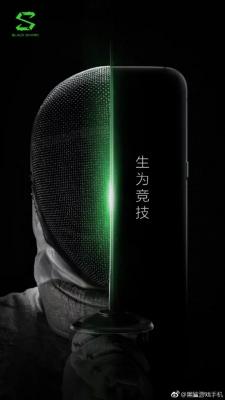 Официальный постер игрового смартфона Xiaomi Black Shark