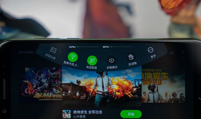 Xiaomi Black Shark оболочка Joy UI