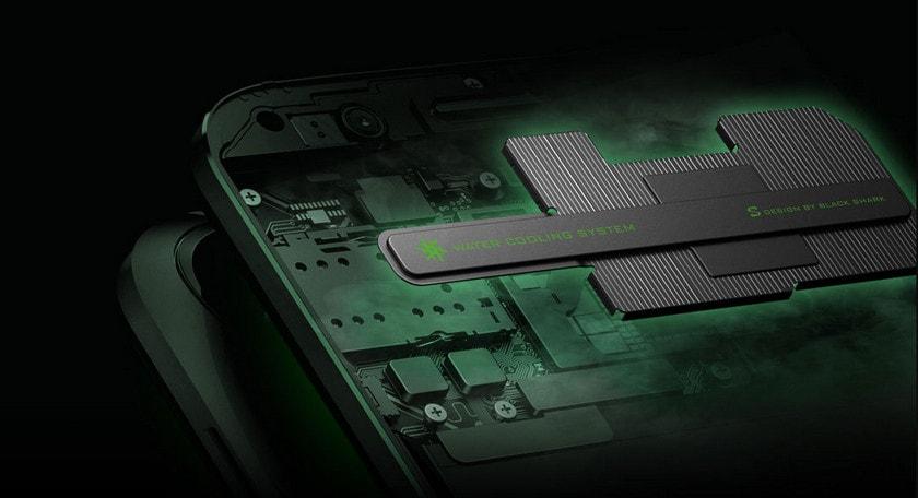 Xiaomi Black Shark водяное охлаждение