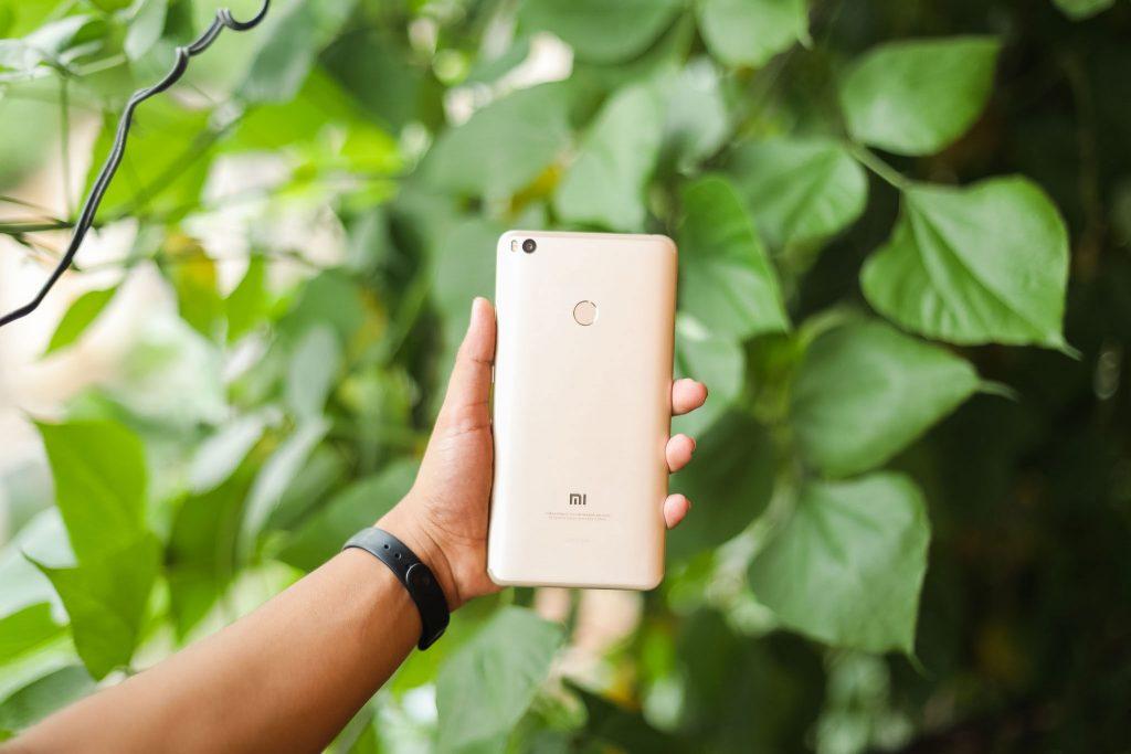 Xiaomi Mi Max 2 задняя панель
