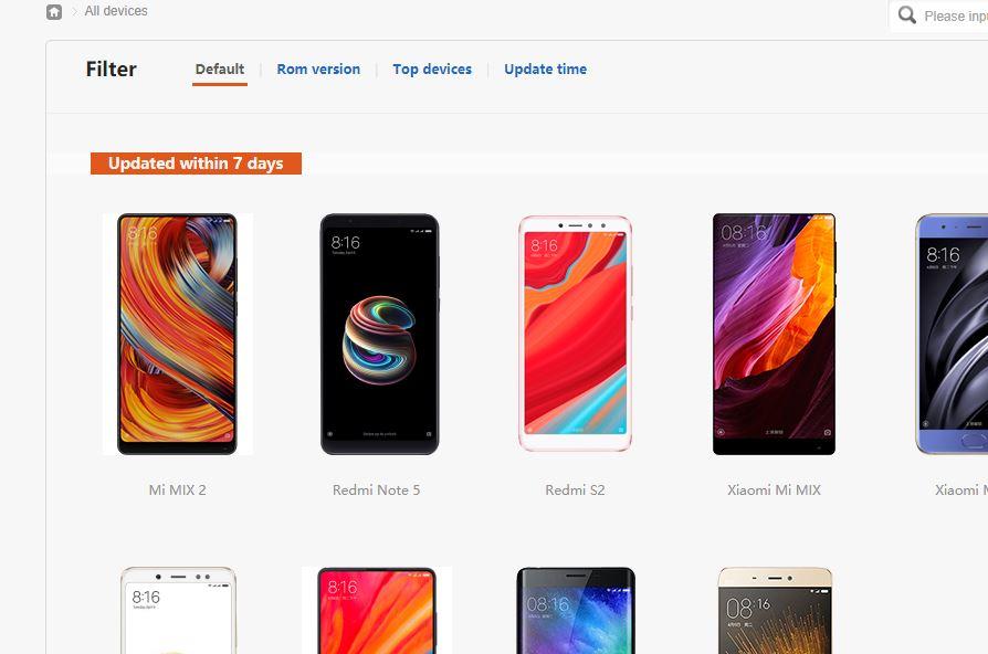 Официальный сайт Xiaomi MIUI